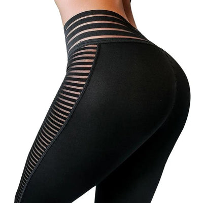 Women Leggings Push Up Workout High Waist Sportswear Leggings Black Elastic Leggings