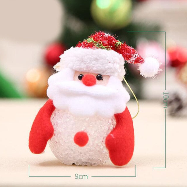Snowman Rainbow Changing Night Light Christmas Decoration and Gift