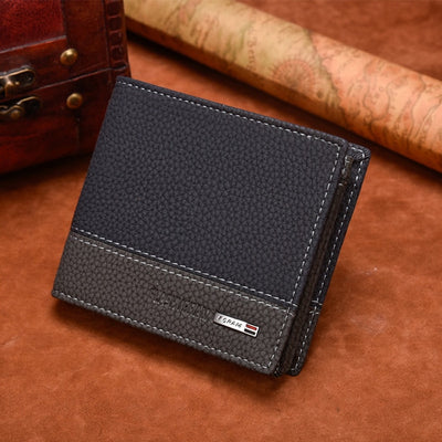 Wallet Purse Male Money Bag with Business Card Holder