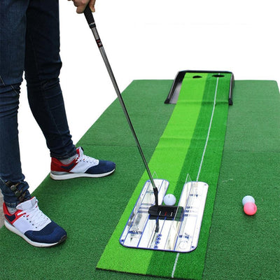 Premium Alignment Putting Mirror -All In One Golf Training Aid Putting Setup Position The Putter Face Correction