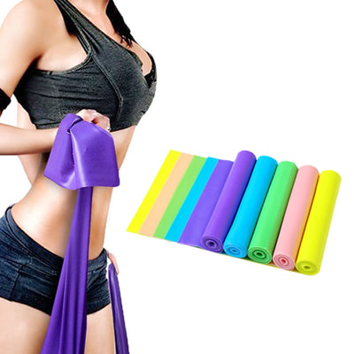Yoga Training Elastic Band Fitness Resistance Body Expander Pull Strap Stretching Belt Workout Rubber Bands