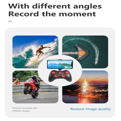 Drone 4K Camera HD WiFi Transmission FPV Drone Helicopter with Camera