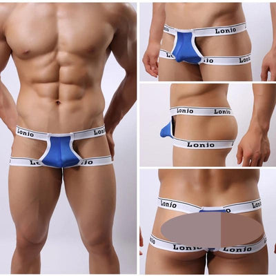 Hot Erotic Double G Strings Butt Naked  Thong Breathable Adult Gay Sexy Soft Underwear