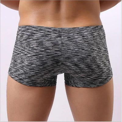 Sexy Low Waist Breathable Soft Men Boxer U Cock Pouch Underwear