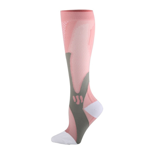 Compression Leg Stocking Knee High Sport Outdoor