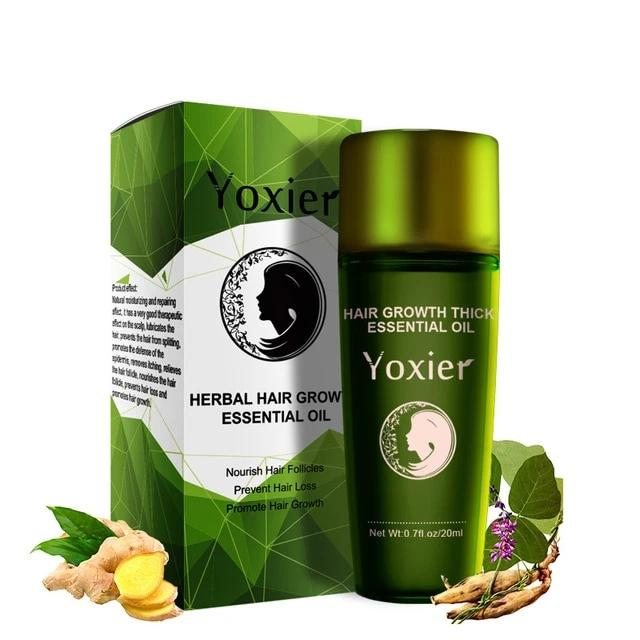Herbal Hair Growth Essential Oil Hair Care Styling Prevent Hair Loss Fast Repair Growing Treatment