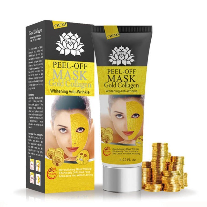 100% Original 24K Golden Mask Anti Wrinkle, Whitening, Lifting & Firming Facial Mask
