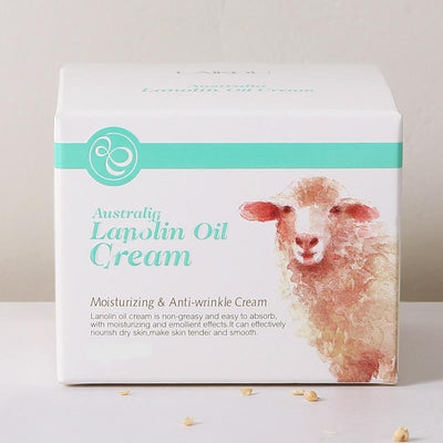 Lanolin Moisturizing Anti-Wrinkle Cream for Face Skin Care Whitening Cream Marks Nourishing Acne Scar Removal Cream