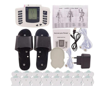 Electrical Muscle Stimulator Therapy Massager Pulse Tens Acupuncture Full Body Massage