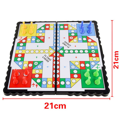 Box Board Game Set Chess Portable Game Set for Kids / Family