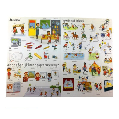 Big Book of English Words Learning Famous Picture Book for Kids  Books Early Education