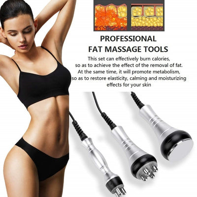 Cavitation Ultrasonic Weight Loss Beauty Machine Body Slimming Fat Removal Shaping Massager Anti-wrinkle Beauty Equipment