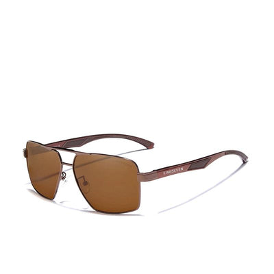 Aluminum Men's Polarized Lens Sunglasses Coating Mirror Glasses