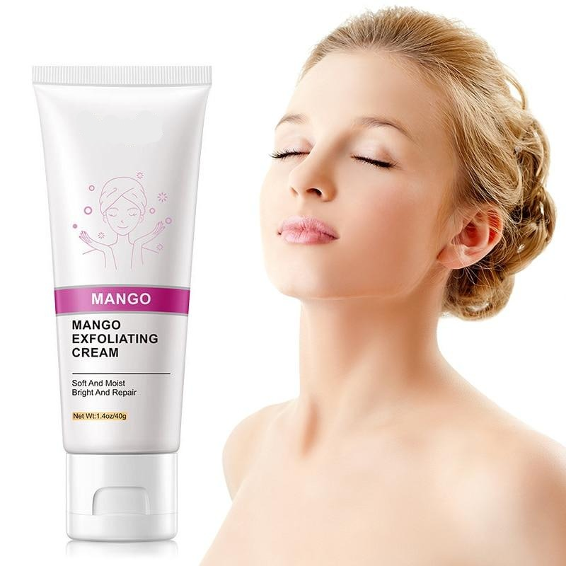 Deep Cleansing Exfoliating Peeling Gel  Soft Organic Facial Cream Facial Scrub Cleaner
