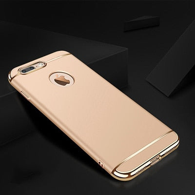 Luxury 360 Full Cover Plating Phone Case For iphone 11 Pro 6 6s 7 8 Plus 5 5s SE X XS Max XR PC Matte Hard Cover Case Cap