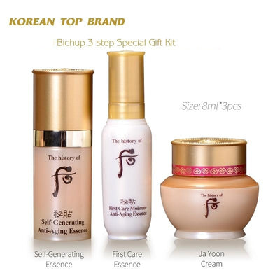 Korea Top Brand Makeup High-End Royal Anti-Aging First Care Essence, Self Generating Serum Face Cream