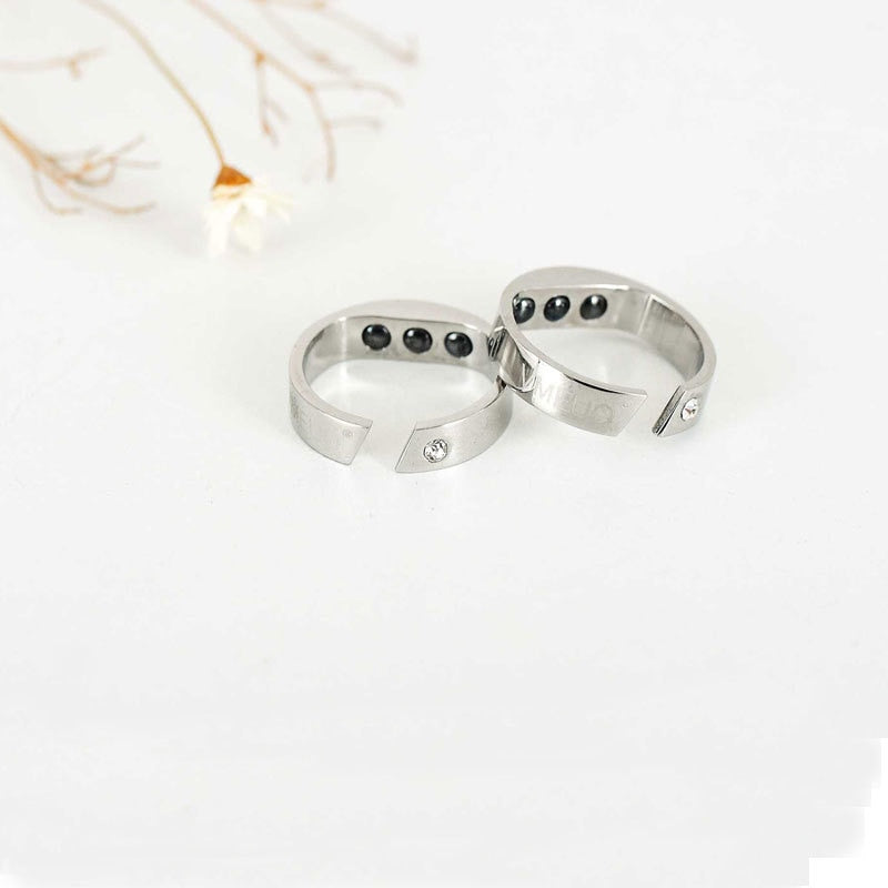 Anti Snore Ring Magnetic Therapy Snore Stopper Finger Ring Sleeping Aid Snoring Device