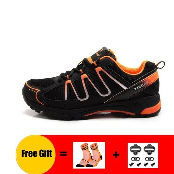 Cycling Shoes MTB Unisex Breathable Leisure Cycling Sneakers Self-Locking Athletic Bike Shoes