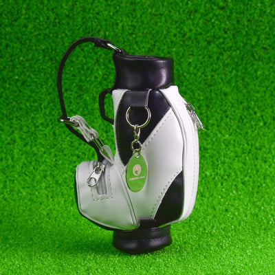 Mini Golf Pens Holder with Pen for Desk Decoration Bag Golf Gift for Golfer