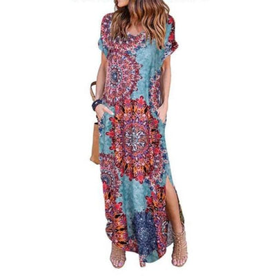 Summer Chic Loose Long Dress