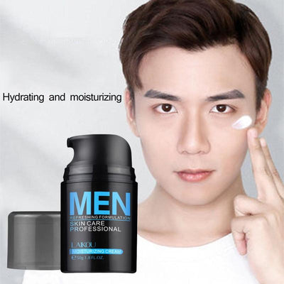 Hyaluronic Acid Face Cream Oil-Control Men Lift Anti-Wrinkle Firming Shrink Pores Acne Day Cream Moisturizing Whitening
