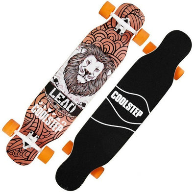 1 Pcs 4 Wheels Professional Skate Dancing Long Board Highway Dance Board Downhill Freestyle Road Street