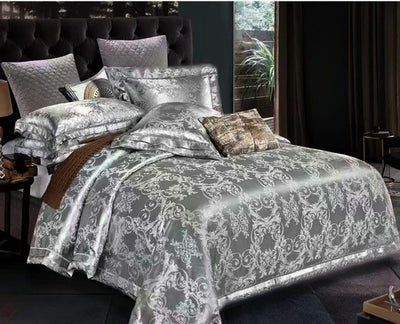 Luxury Bedding Set King Size Duvet Cover Bed Linen Queen Comforter Bed Gold Quilt Cover