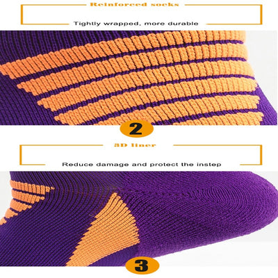 Running Cycling Breathable Athletic Compression Socks