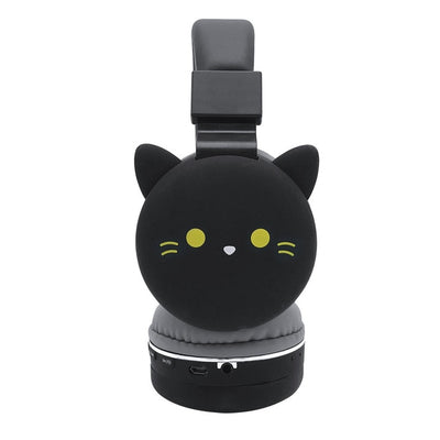 Cute Kids Girl Cartoon Bluetooth Headphones 3D Cat Rabbit Animal Wireless Music Headset
