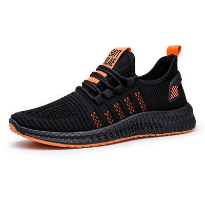 Men casual shoes breathable mesh sneakers comfortable walking footwear male running sport shoes