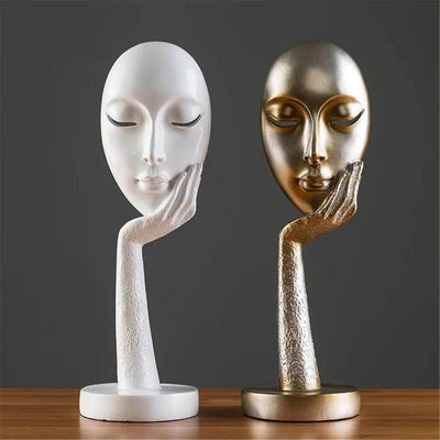 Modern Art Crafts Figurine Home Decorative Display Resin Statues