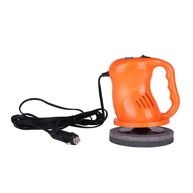 DC12V Electric Car Polisher Machine Auto Polishing Machine Adjustable Speed Sanding Waxing Tools Car Accessories Power Tools
