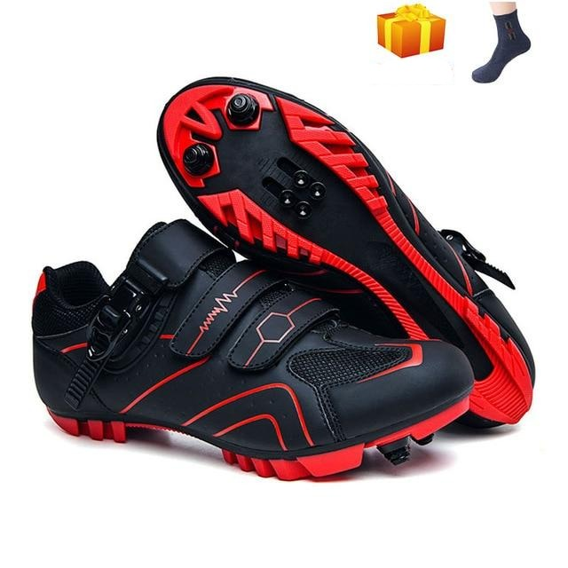 MTB Cycling Shoes Men Outdoor Sports Self-locking Nonslip Mountain Bike Sneakers Racing Women Bicycle Shoes