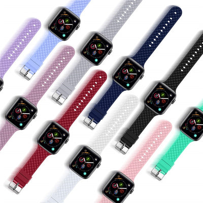 Silicone Strap for Apple Watch Band Apple Watch 5 4 3 Band 44mm 40mm iWatch Band 5 42mm 38mm Bracelet Watchband