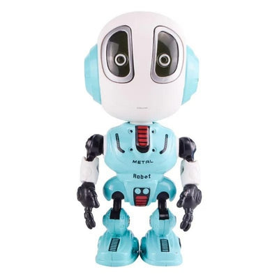 Smart Talking Alloy Robot Electronic Toy Kid Xmas Gift DIY Gesture Touch Sensor LED Electronic Removable Alloy Robot