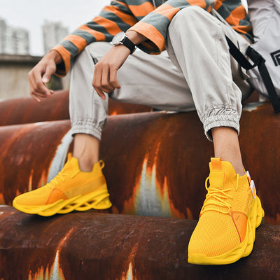 Fashion Men's Sneakers Summer Design New Trend Men Shoes Casual Mesh Breathable Light