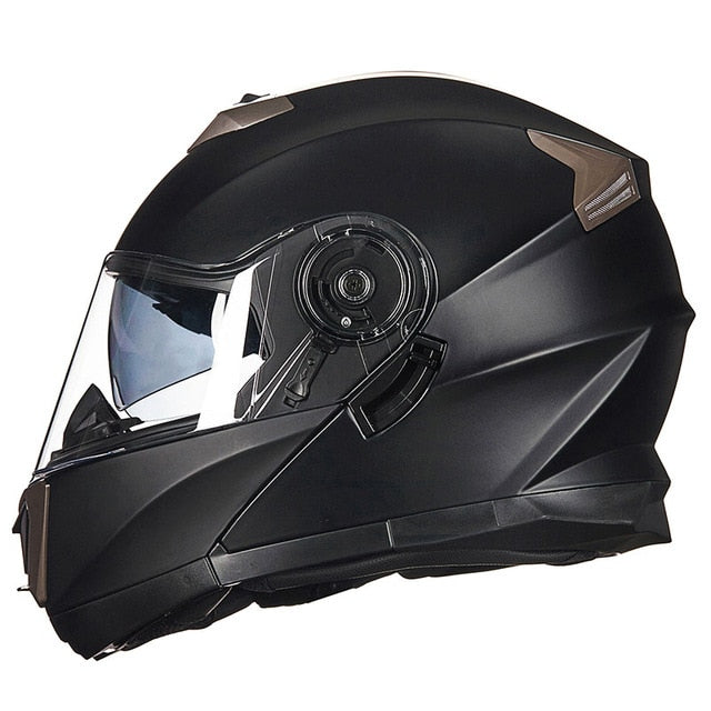 Motorcycle Helmet Racing Modular Dual Lens Motocross Moto Helmet Full Face Helmets Flip Up Casco Moto