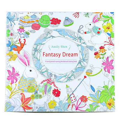 Fantasy Dream Painting Drawing Book