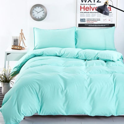 Solid Color Bedding Sets for Full / Queen / King / Super King Sizes