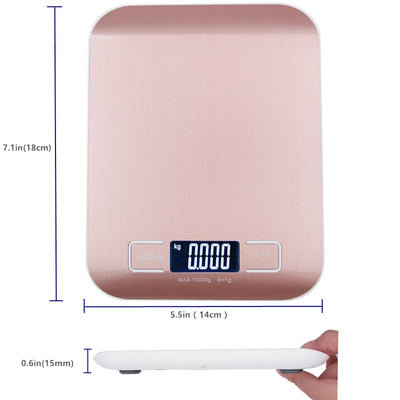 Digital Kitchen Stainless Steel Scale
