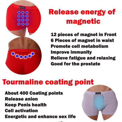 Tourmaline Magnetic Therapy Boxer
