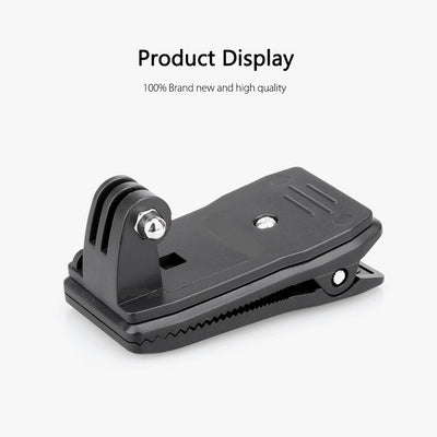 Camera Accessories Backpack Clip Clamp Mount for Go Pro Action Camera