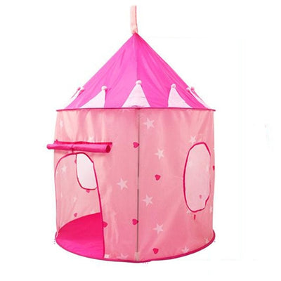 Foldable Castle Play House Toy Play Tent for Kids
