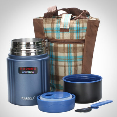 Termos Food Container with Spoon Thermal Lunch Box