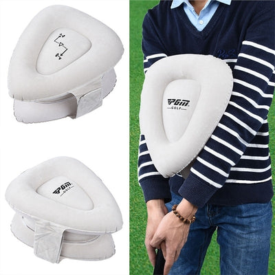 Golf Swing Training Aids Inflatable Golf Arm Corrector Straight Practice