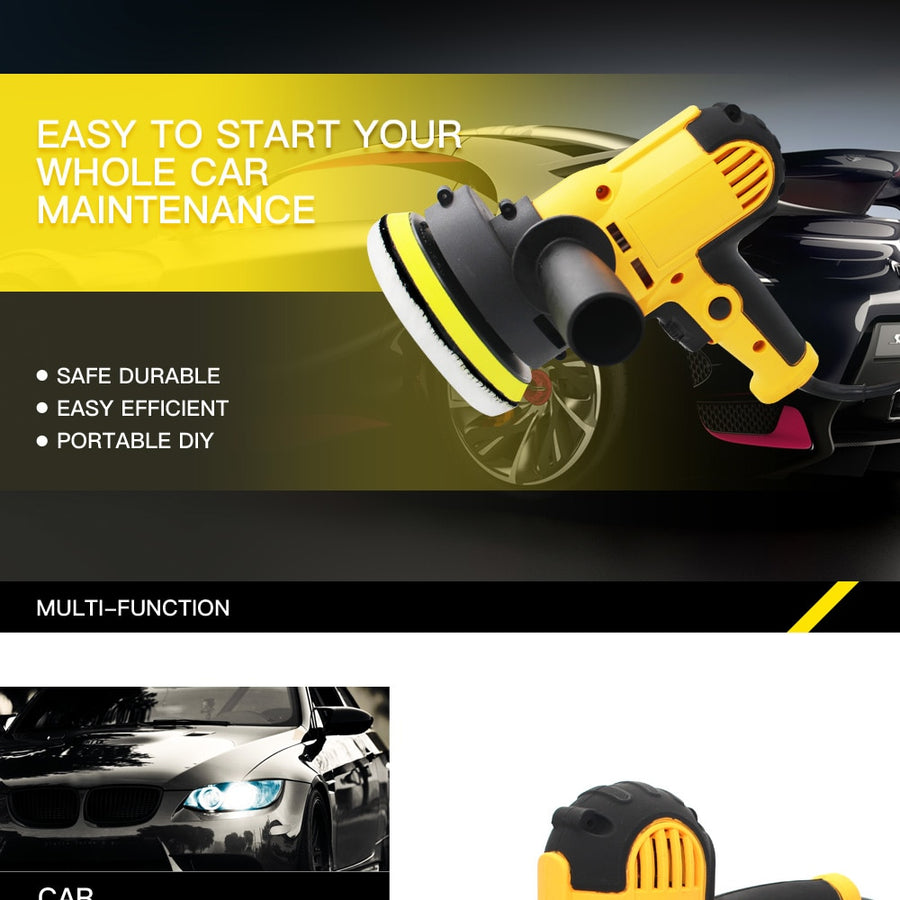 Electric Car Polisher Machine
