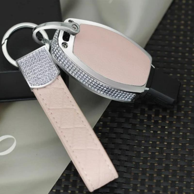 Luxury Diamond Auto Key Crystal Shell Car Smart Key Case Cover for Mercedes-Benz A/B/C/E/ML/GL/S/GLA/GLK/CLS/CLA W204