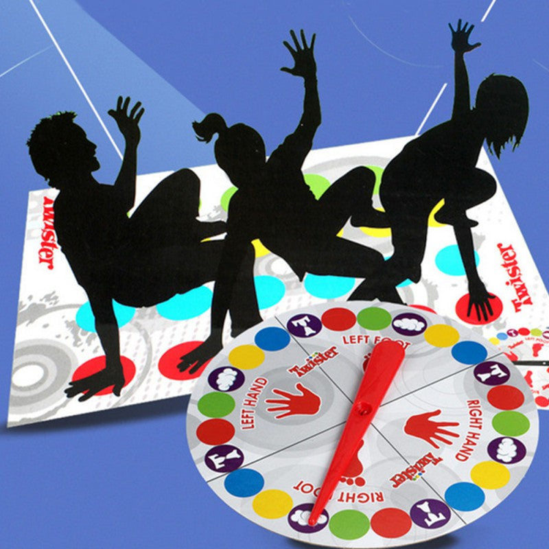 Funny Twister Game Board