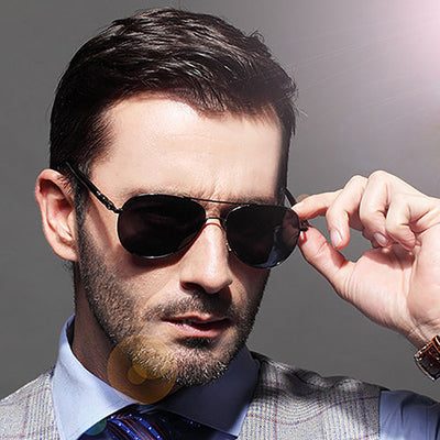 UV400 Retro Aviation Polarized Sunglasses for Unisex