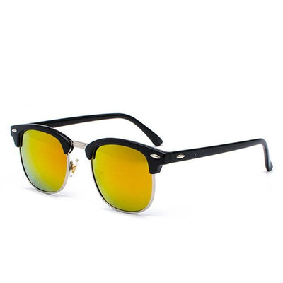 Vintage Polarized Metal Sunglasses Retro Driving UV400 Sunglasses